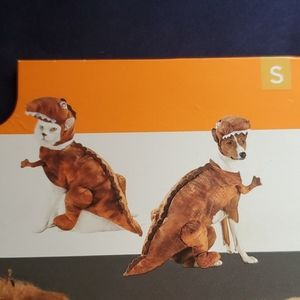 Dog Dinosaur pet costume NWT small